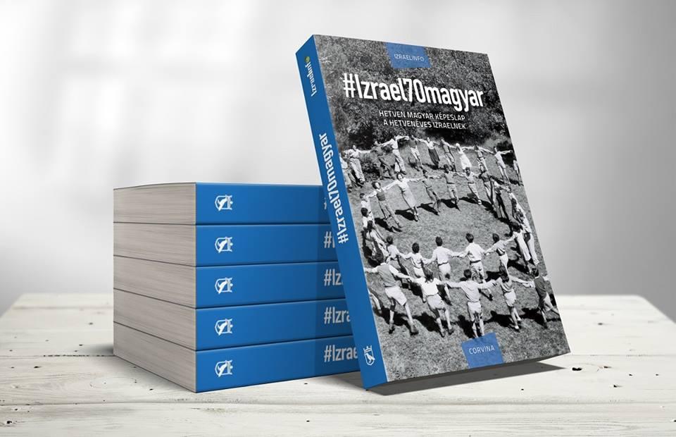 #Izrael70-könyv